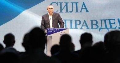 Primarul de Bălți, Renato Usatîi, este candidatul formațiunii Partidului Nostru la alegerile prezindenţiale
