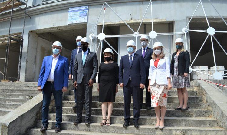 În orașul Bălți au fost lansate lucrările de construție a Centrului de Inovare și Transfer Tehnologic din Regiunea de Dezvoltare Nord