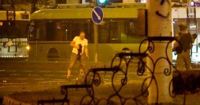 Глава МВД Белоруссии допустил, что в убитого участника протестов могли стрелять 3 11.05.2021