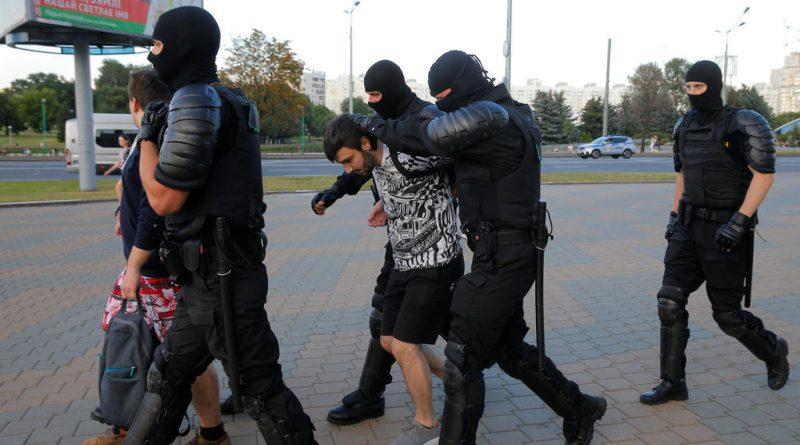 Foto Белорусские силовики избивали российских журналистов, несмотря на то, что на тех были надеты жилеты с надписью «пресса» 1 14.06.2021