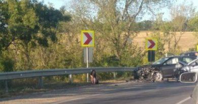 Accident pe centura orașului Bălți. Două mașini au fost avariate