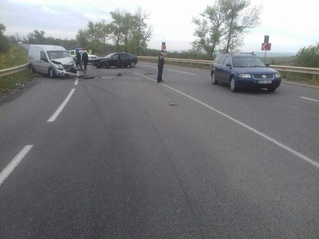Foto /FOTO/ Accident la Sângerei. O persoană a ajuns la spital 1 01.08.2021