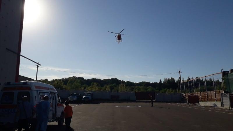 Foto /FOTO/ Intervenție SMURD la Soroca. Un bărbat cu arsuri transportat la Chișinău 8 24.07.2021
