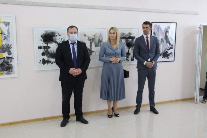 Foto /FOTO/ Prima galerie de artă, inaugurată la Muzeul de Istorie, Etnografie și Artă din orașul Drochia 2 24.07.2021