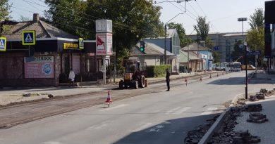 Foto С 29 сентября по 16 октября будет закрыто движение автотранспорта по ул. Дечебала от ул. Штефана чел Маре до ул. К. Ешилор 3 24.07.2021