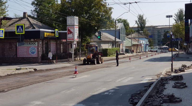 Foto С 29 сентября по 16 октября будет закрыто движение автотранспорта по ул. Дечебала от ул. Штефана чел Маре до ул. К. Ешилор 1 05.08.2021