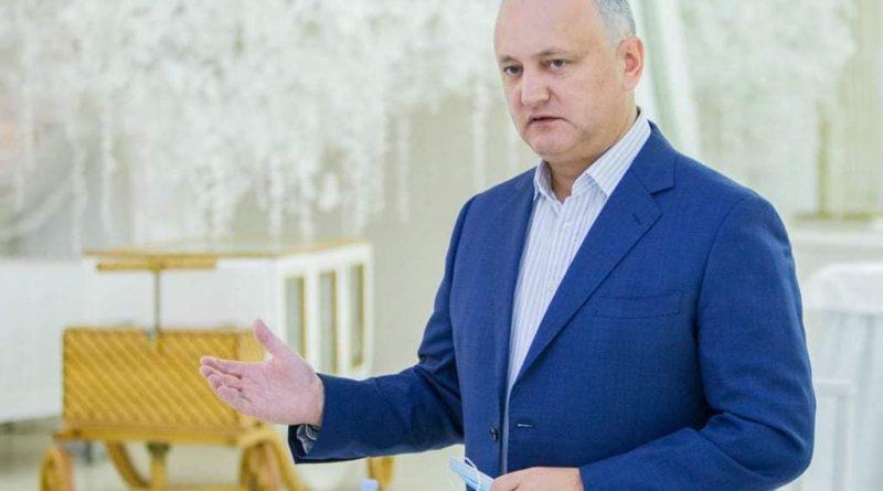 Президент РМ Игорь Додон прибыл сегодня с рабочей поездкой в Бэлць 1 15.05.2021