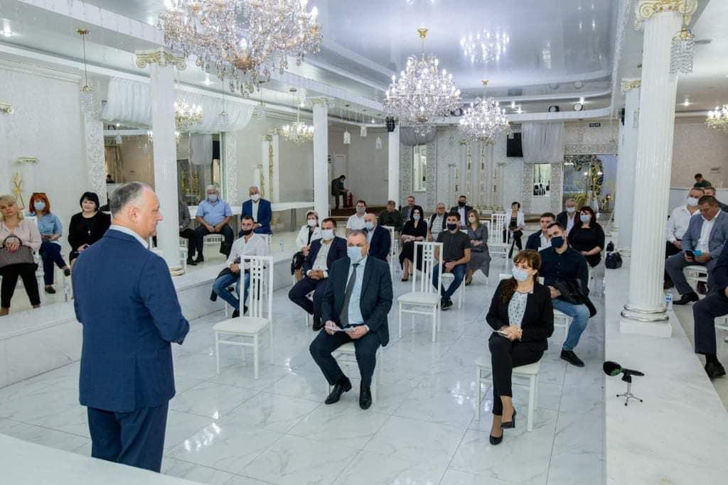 Президент РМ Игорь Додон прибыл сегодня с рабочей поездкой в Бэлць 3 15.05.2021