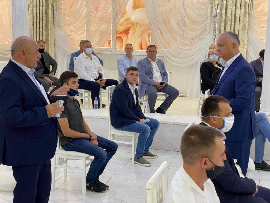 Президент РМ Игорь Додон прибыл сегодня с рабочей поездкой в Бэлць 2 15.05.2021