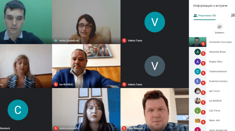 """Foto /VIDEO/ Un laborator pentru studenții de la jurnalism a fost lansat în cadrul Universității de Stat """" Alecu Russo"""" din Bălți 2 24.07.2021"""