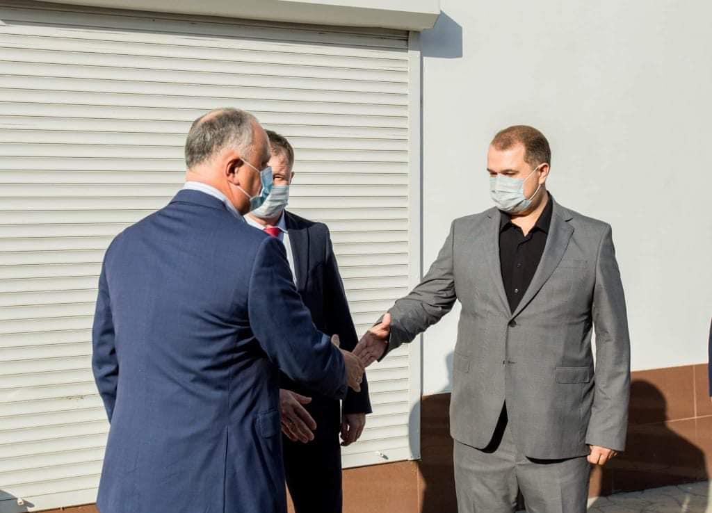 Президент РМ Игорь Додон прибыл сегодня с рабочей поездкой в Бэлць 4 15.05.2021