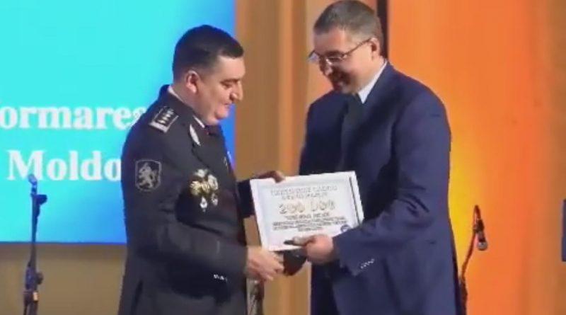 Хроника несбывшихся обещаний: Ренато Усатый не перечислил обещанные в 2019 году 200 тыс. леев полиции Бэлць 1 15.05.2021
