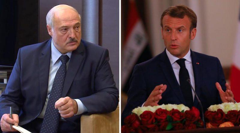 Лукашенко ответил Макрону на призыв уйти 1