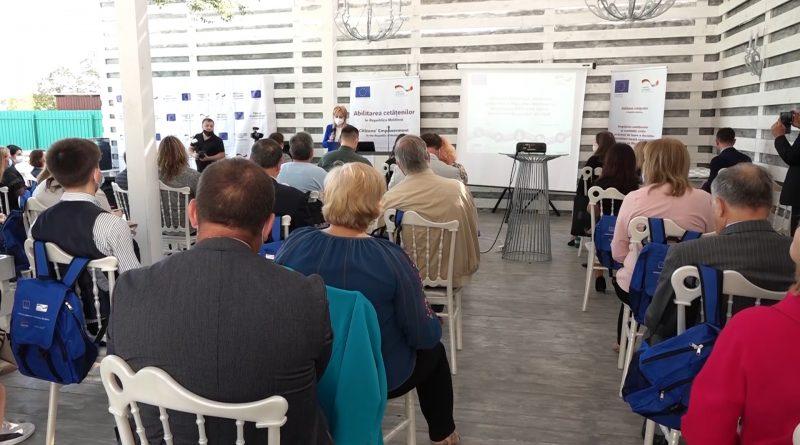 """Foto /VIDEO/ Peste 20 de granturi oferite în cadrul proiectului """"Abilitarea cetățenilor în Republica Moldova"""" din Regiunea de Dezvoltare Nord 1 24.07.2021"""