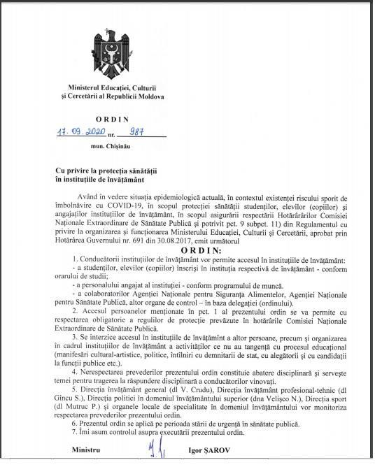 Foto /DOC/ Igor Șarov interzice accesul persoanelor străine în instituțiile de învățământ după inaugurarea toaletei din Râșcani 1 24.07.2021