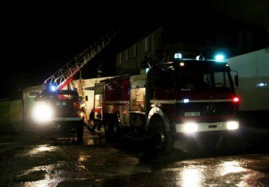 Пожар в Бэлць: двое молодых людей госпитализированы