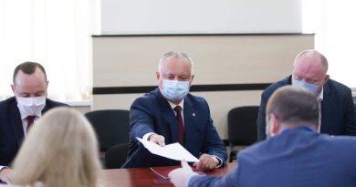Igor Dodon candidat independent la alegerile prezidențiale