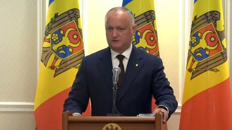 Igor Dodon, după ce în Republica Moldova s-au înregistrat recorduri de infectări cu COVID-19: Sistemul medical face față