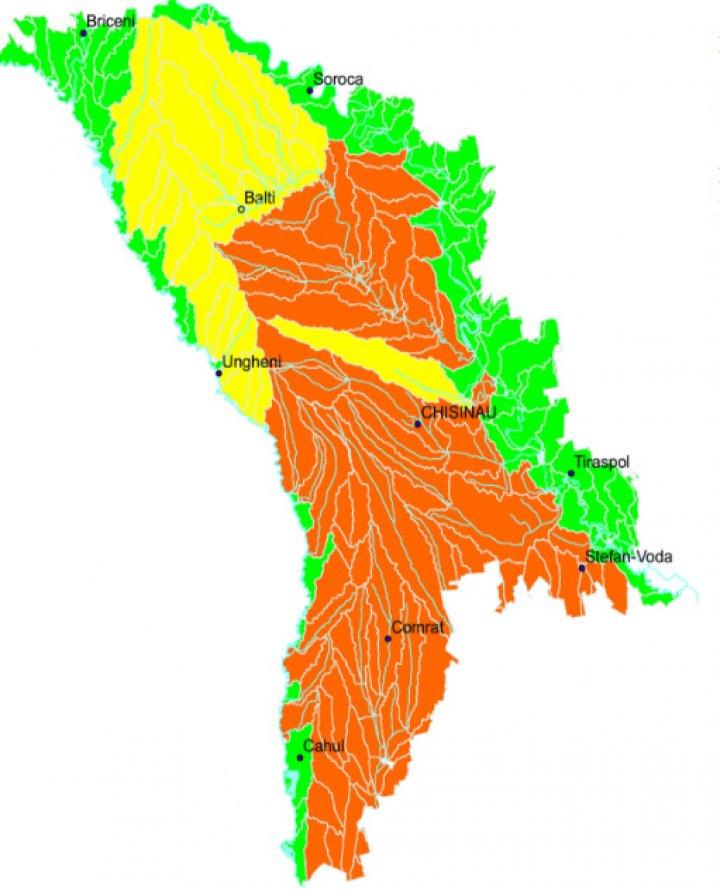 Foto Atenție! Codul Galben și Portocaliu de secetă hidrologică a fost prelungit în Republica Moldova 1 24.07.2021
