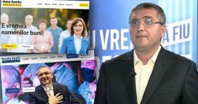 Ренато Усатый признался, что скопировал предвыборный сайт Майи Санду 3
