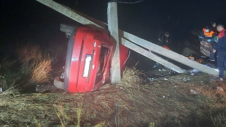/FOTO/ Un tânăr din raionul Florești în stare de ebrietate a provocat un accident soldat cu un deces și un rănit