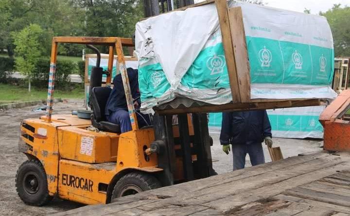 /VIDEO/ Salvatorii au distribuit materiale de construcție în raionul Glodeni pentru populația afectată de intemperii