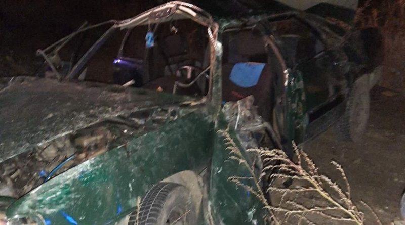 /FOTO/ Grav accident la Fălești. Cinci persoane, printre care două minore, au ajuns la spital