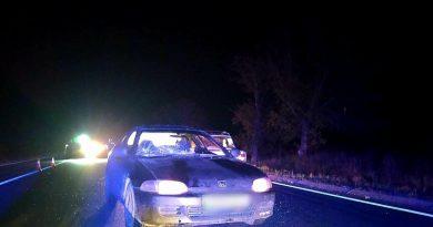 /FOTO/ Un bărbat din raionul Florești a murit după ce a fost lovit de două automobile