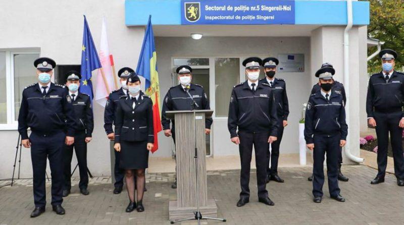 Un sector de poliție din raionul Sângerei a fost modernizat conform standardelor europene