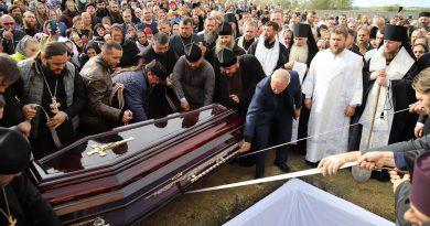 Молдавская митрополия провела в последний путь архимандрита Рафаила (Бодю), настоятеля монастыря Пророка Илии 4 11.05.2021