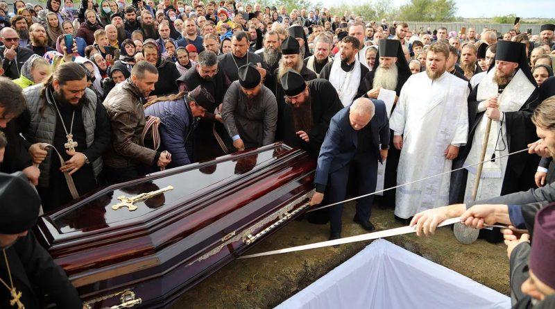 Foto Молдавская митрополия провела в последний путь архимандрита Рафаила (Бодю), настоятеля монастыря Пророка Илии 1 24.07.2021