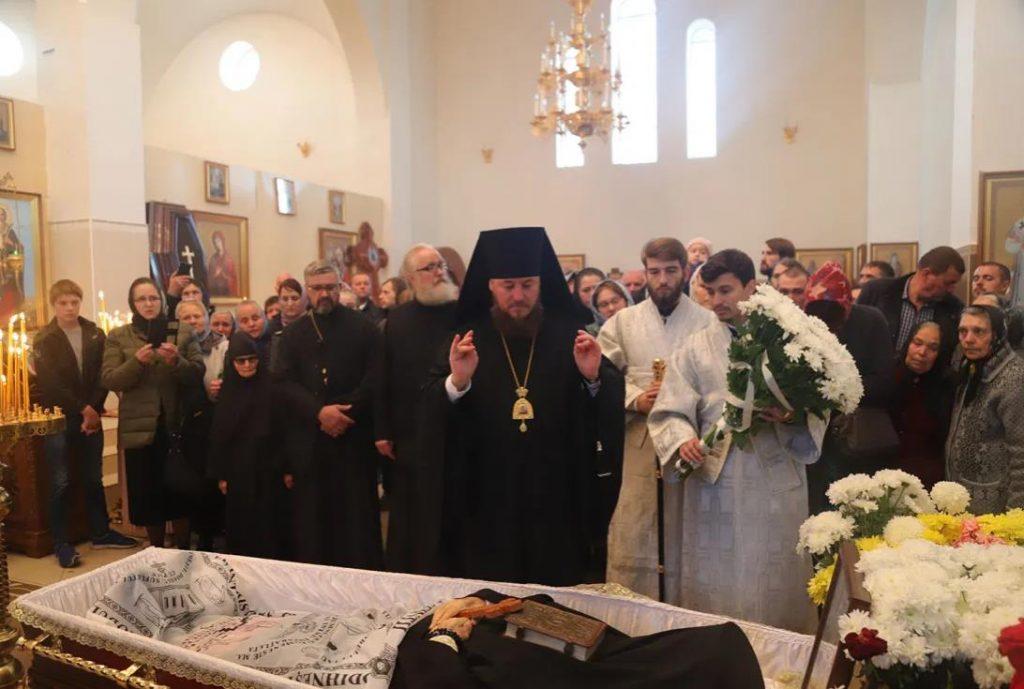 Foto Молдавская митрополия провела в последний путь архимандрита Рафаила (Бодю), настоятеля монастыря Пророка Илии 2 24.07.2021