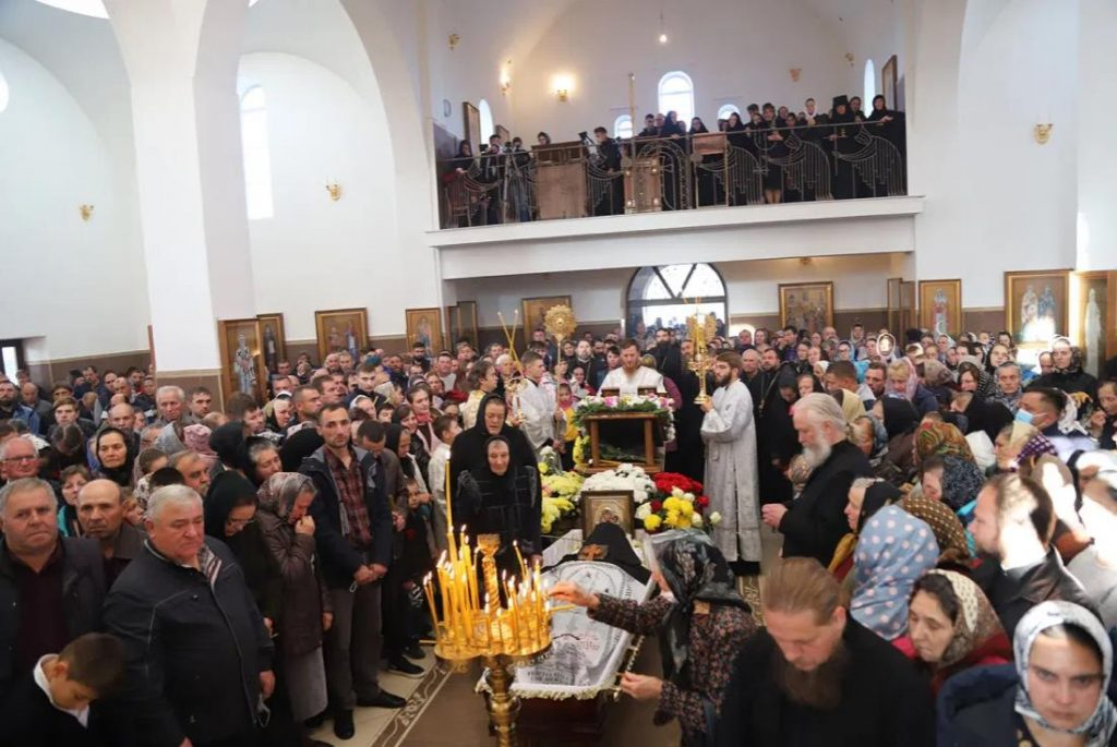 Foto Молдавская митрополия провела в последний путь архимандрита Рафаила (Бодю), настоятеля монастыря Пророка Илии 4 24.07.2021