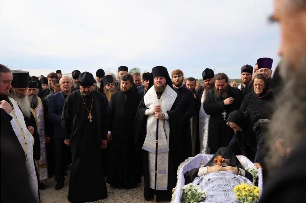 Foto Молдавская митрополия провела в последний путь архимандрита Рафаила (Бодю), настоятеля монастыря Пророка Илии 5 24.07.2021