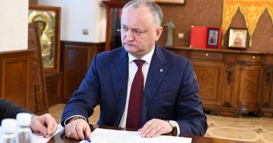 Игорь Додон: В Молдове государственным является молдавский язык 4