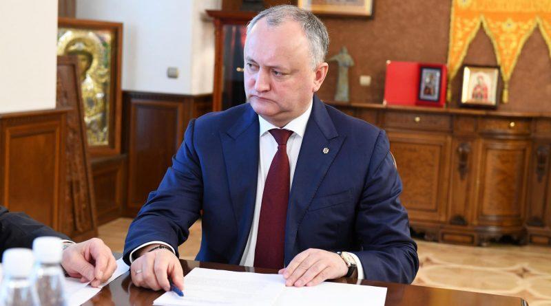 Foto Игорь Додон: В Молдове государственным является молдавский язык 1 24.07.2021