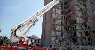 Blocul avariat din orașul Otaci va fi demolat