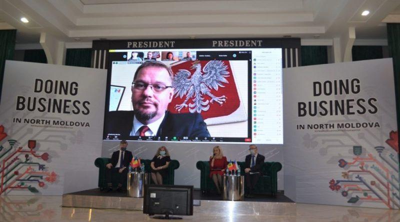 Parteneri din nordul Moldovei, Cehia, Polonia, Letonia și România s-au reunit în cadrul unui forum de afaceri la Bălți 1 12.04.2021