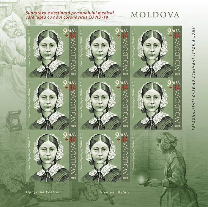 Poșta Moldovei va pune în circulație un timbru dedicat medicilor 1