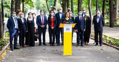 Майя Санду назвала пять пунктов своей предвыборной программы 2