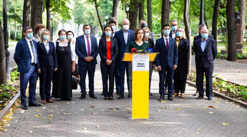 Майя Санду назвала пять пунктов своей предвыборной программы 37 15.05.2021