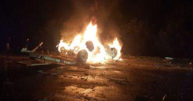 Минувшей ночью на въезде в село Згурица Дрокиевского района произошла страшная авария 5 18.04.2021