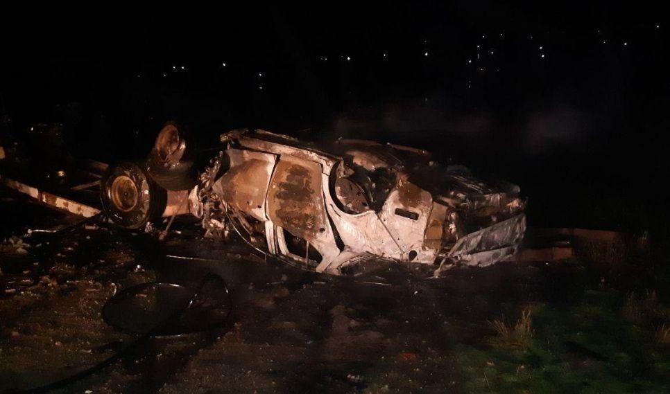 Foto Минувшей ночью на въезде в село Згурица Дрокиевского района произошла страшная авария 2 23.06.2021