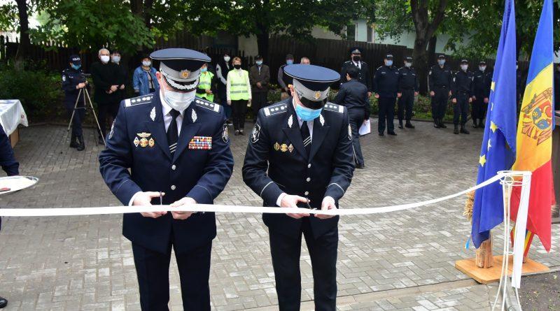 Un sector de poliție din raionul Briceni a fost modernizat conform standardelor europene