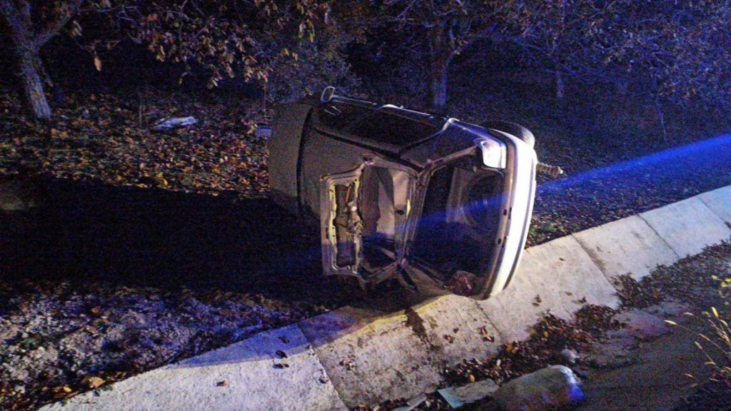 /FOTO/ Accident violent în raionul Fălești. O femeie a ajuns la spital 1