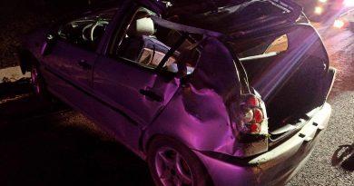 /FOTO/ Accident violent în raionul Fălești. O femeie a ajuns la spital