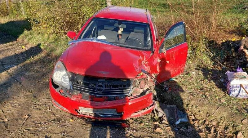 /FOTO/ Grav accident în raionul Sângerei. Patru persoane au ajuns la spital