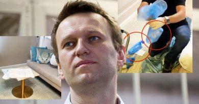 """В руках у немецких следователей оказались несколько предметов со следами """"Новичка"""", которым отравили Навального 4 14.04.2021"""
