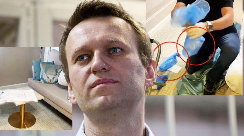 """В руках у немецких следователей оказались несколько предметов со следами """"Новичка"""", которым отравили Навального 1 12.04.2021"""