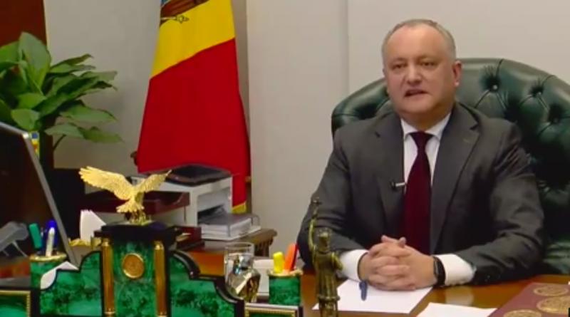 Игорь Додон: Парламент должен быть распущен, а в стране должны пройти досрочные выборы 1